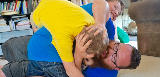 15 Fun Ways to Initiate Wrestling with Your Kids