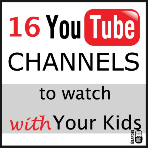 16 YouTube Channels to Watch with Your Kids
