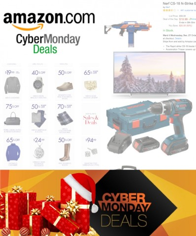 Getting Christmas gifts early with Amazon Cyber Monday Deals
